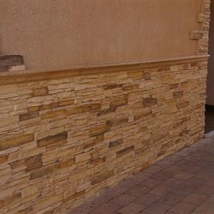 Piedra artificial artejara cat logo t cnico aplacados for Zocalos de fachadas fotos